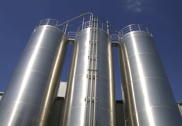 Float block image silos